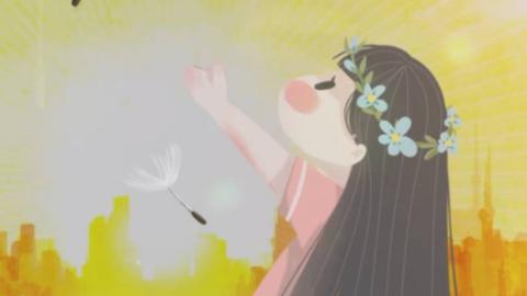 【洛天依反网络暴力原创曲续】纯白色的花儿(初版PV)