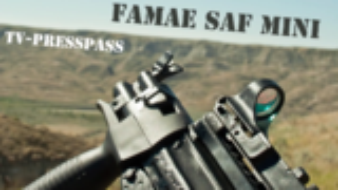 【搬运/TV-PressPass】智利FAMAE SAFmini 微型冲锋枪测评 (已添加中文字幕)