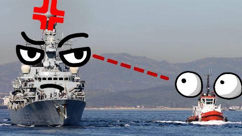 【点兵985】北约不是铁板一块?英国西班牙恩怨爆发,直接用军舰开撕