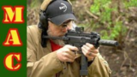 [MAC]试射美国陆军新冲锋枪(APC9k)