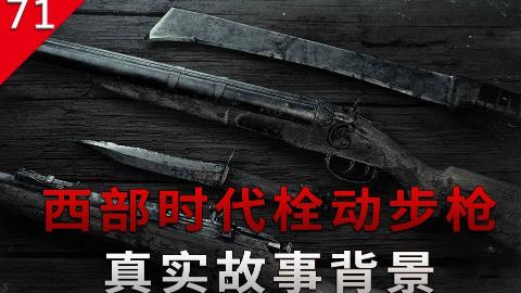 【不止游戏】西部时代的栓动步枪 真实历史背景