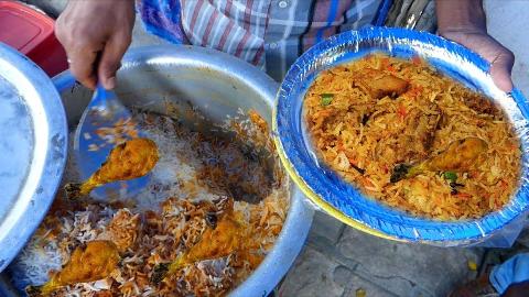 【印度街头美食】 - 海得拉巴最便宜的路边餐-任意吃!