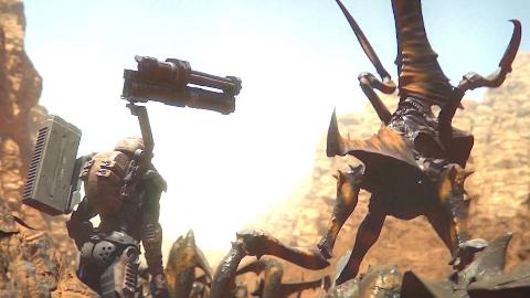 重温经典《星河战队》,虫子到处都是,只能到处开火!