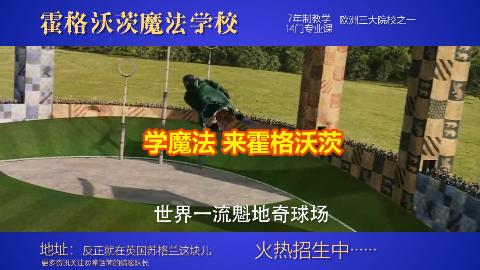 """【恶搞】霍格沃茨魔法学校""""土味""""招生广告!"""