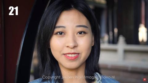 外国人拍摄的0—100岁的中国人面孔