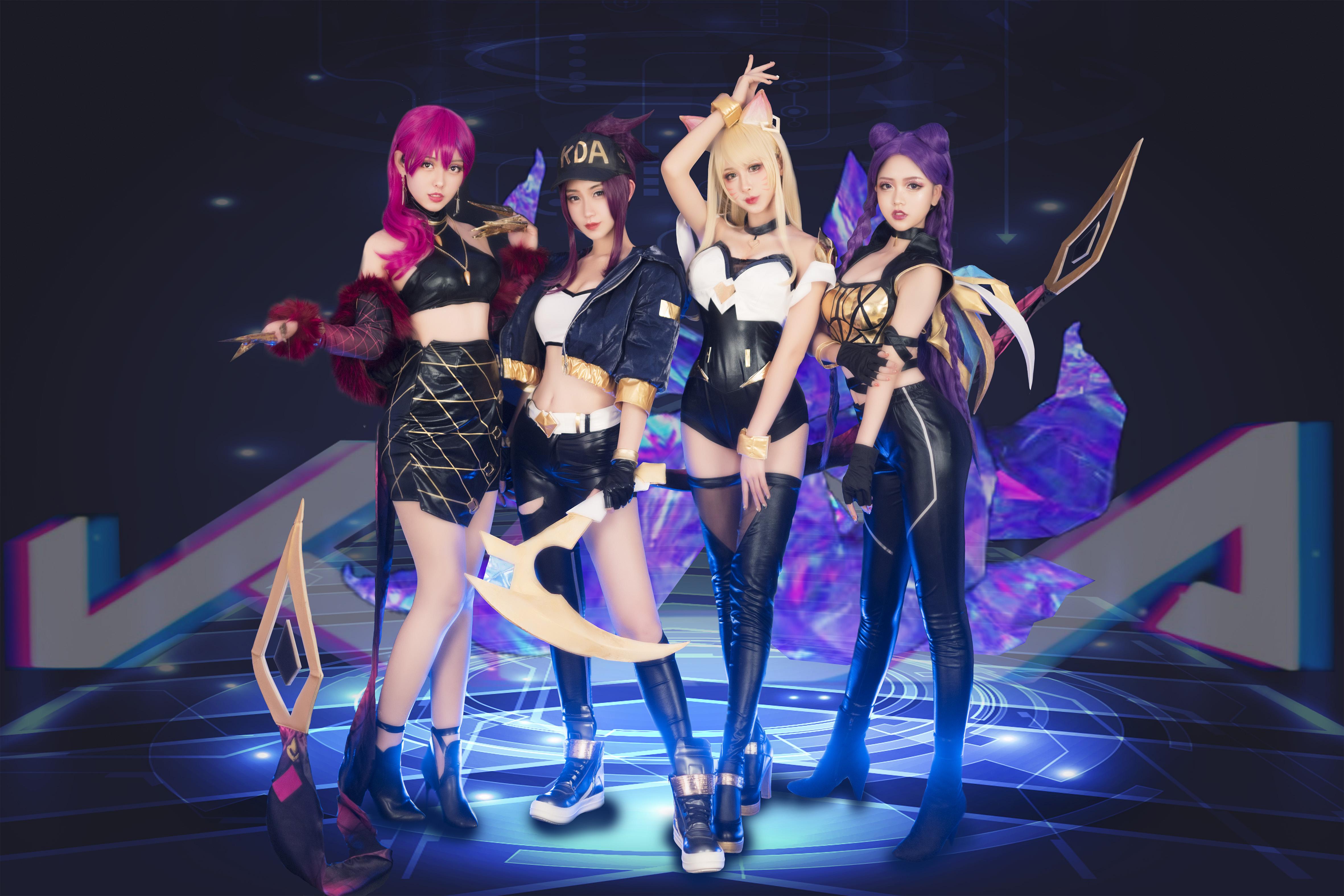 【波利花菜园】COS翻跳K/DA-POP/STARS