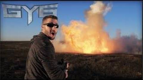 [GY6vids]慢镜头看50磅的粉尘爆炸