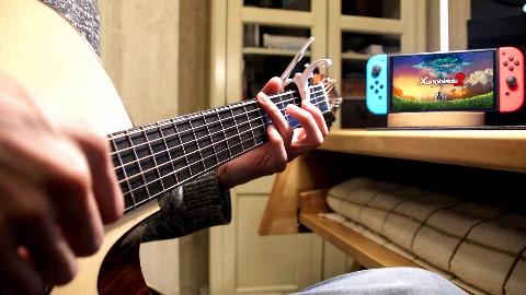 【吉他改编UP心中最美游戏音乐】异度之刃2吉他连弹