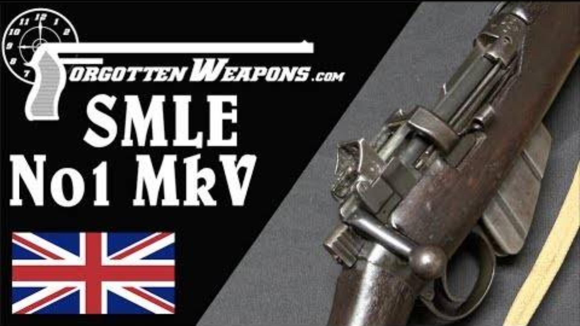 【被遗忘的武器/双语】最棒的SMLE--No.1 MkV试验型步枪介绍