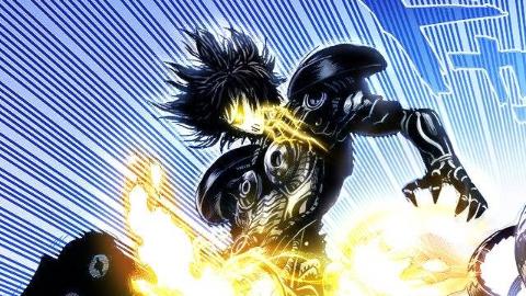 一拳超人161:戏精本质的驱动骑士 经费战士杰诺斯登场