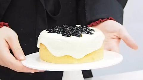 爆浆黑糖珍珠蛋糕的做法——小兔奔跑蛋糕培训