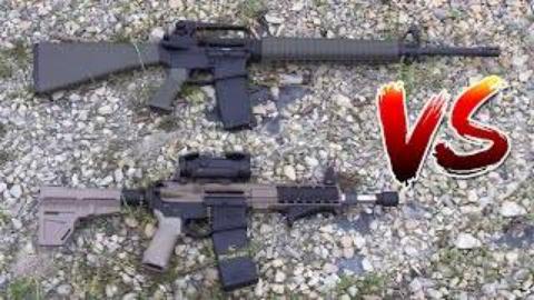 [VSO]传统突击步枪 vs AR手枪