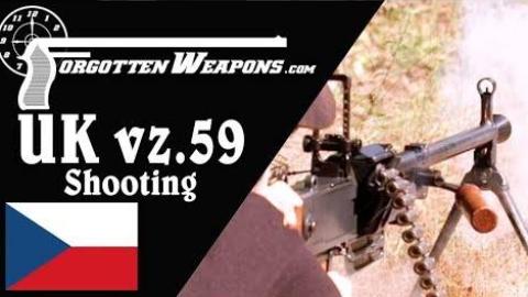 【被遗忘的武器/双语】试射捷克vz.59通用机枪