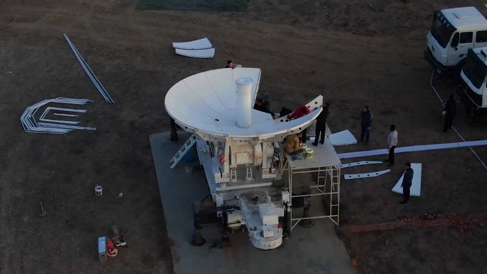 不可描述!西安卫星测控中心某机动任务分队千里机动完成重大测控任务!