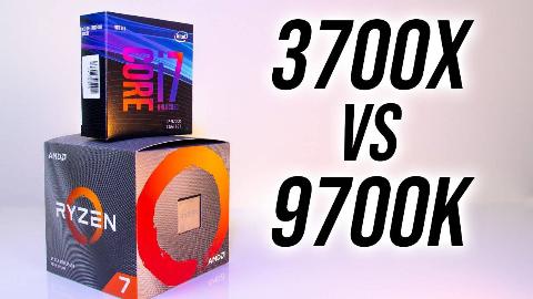 [Jarrod sTech]锐龙7 3700X vs i7-9700K性能测评对比(中文字幕)