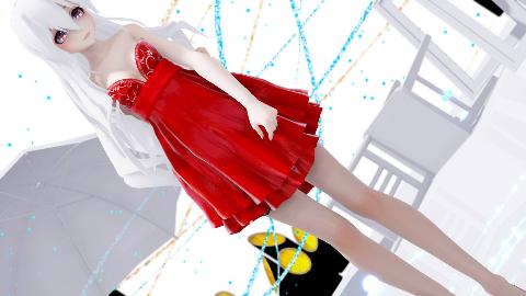 红色高跟连衣裙弱音,MASAYUME CHASING
