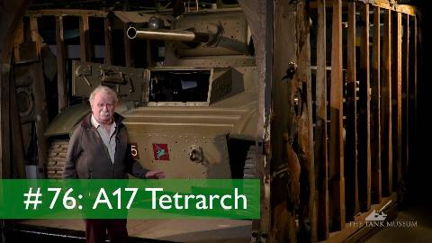 【坦克讲座/双语】大卫·弗莱彻-76-英国A17领主轻型坦克