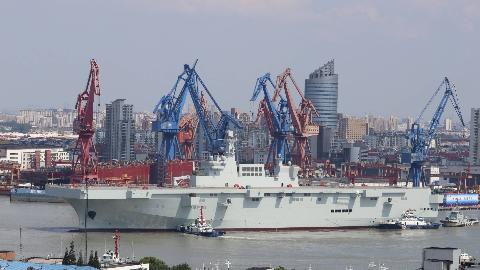 首艘075型两栖攻击舰会怎样命名?网友呼声最高:台湾号
