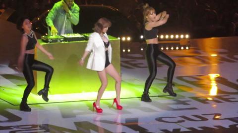 [20150802] Kcon LA现场 - AOA智珉 Puss Solo Rap秀