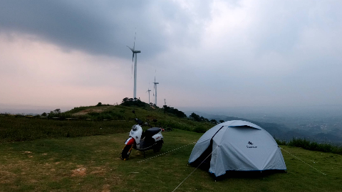 【君的Vlog#5】买好帐篷,来一次一个人的露营——记第一次独自露营