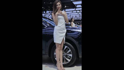 2017 广州车展 传祺展台模特