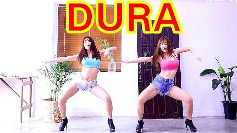 韩国性感女子组合WAVEYA翻跳Daddy Yankee - Dura
