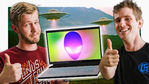 【官方双语】只让我选一台电脑?那我选它——Alienware m15 R2评测#linus谈科技