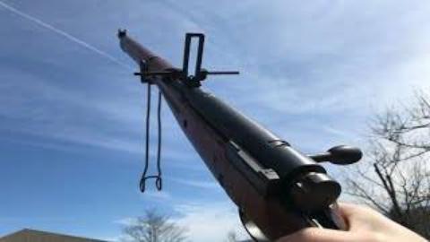 第一人称看射击九九式有坂步枪