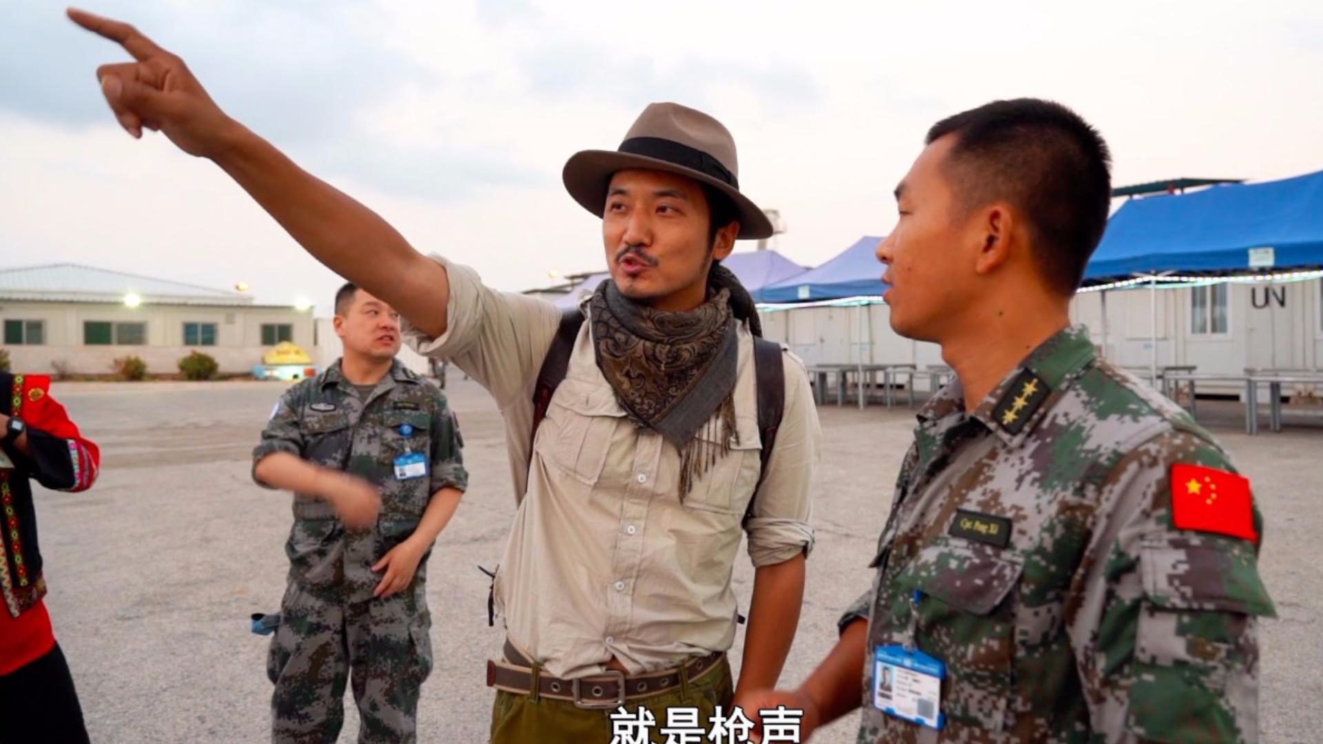 雷探长探访中国驻黎巴嫩维和部队,传播中国文化,当地人都这样评价
