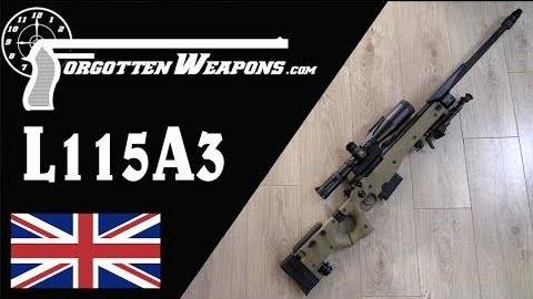 【被遗忘的武器/双语】AWM/L115A3狙击步枪历史介绍