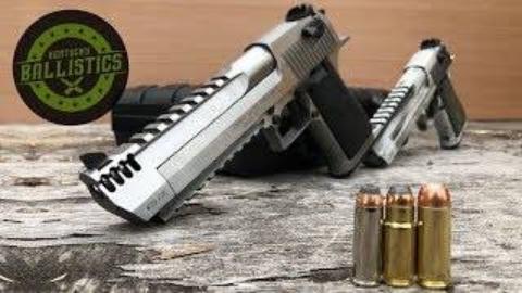 [Kentucky Ballistics]大口径手枪弹对决