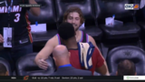 温情~~~NBA球星会见铁杆粉丝时的画面