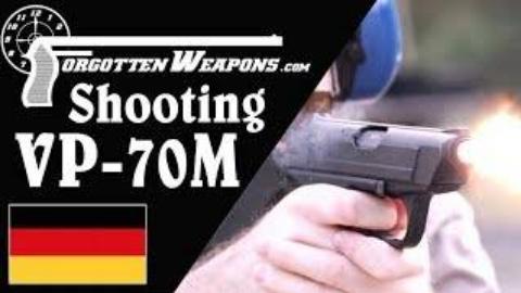 [遗忘武器]H&K VP-70M手枪