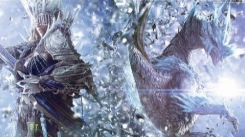 怪物猎人世界冰原  斩斧无脑上头流冰咒