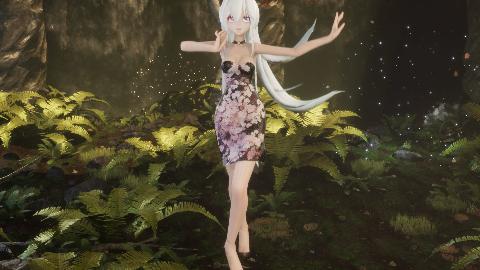 【布料·超短旗袍】世界上最美的少女 弱音