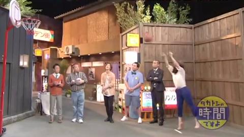 【石原里美】老婆教你打篮球!