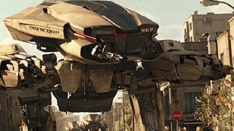 【人机大战】《机械战警2014》【ED-209S】守关