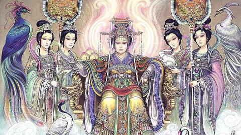 明明是中华上古天神,为何如今却成为了万妖之母?