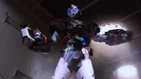 假面骑士zero one 第4话:二骑金刚形态初登场战斗,必杀技片段