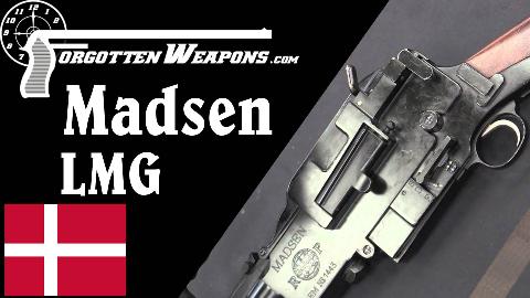 【被遗忘的武器/双语】麦德森轻机枪彻底剖析