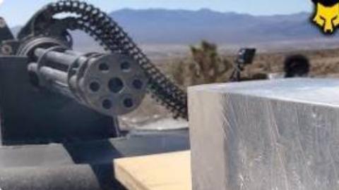 【FullMag】20mm 火神炮  vs 弹道凝胶