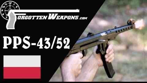 【被遗忘的武器/双语】不仅仅是冲压金属--苏达列夫PPS-43/52冲锋枪靶场试射