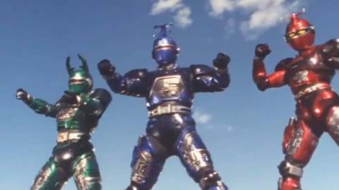 【转载】金属英雄变身系列【1982~1996】