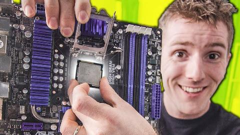 【官方双语】CPU详细安装指南 (新手向第二弹)#linus谈科技