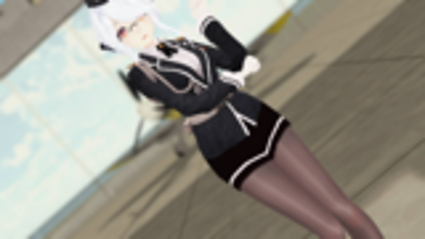 【MMD/制服系列】长官,请您让开,我要去战斗了!