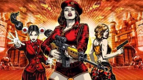 【红色警戒3】最高难度苏联战役剧情攻略流程(9关全、超清版)