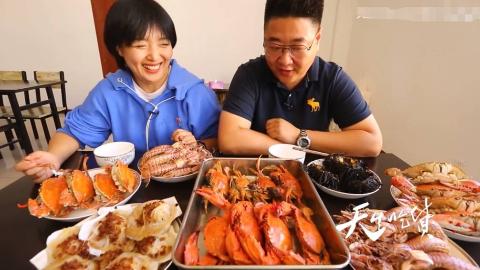 【天生广告】十一前 带你去打探沈阳最大的海鲜市场-1696