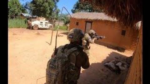 葡萄牙伞兵在中非共和国与叛军作战记录