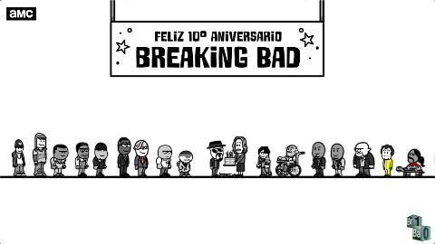 「绝命毒师」十周年AMC动画,一分钟带你回顾所有趣梗