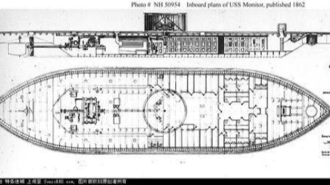 震惊了世界的告诫者——莫尼托尔号铁甲舰浅析(上)
